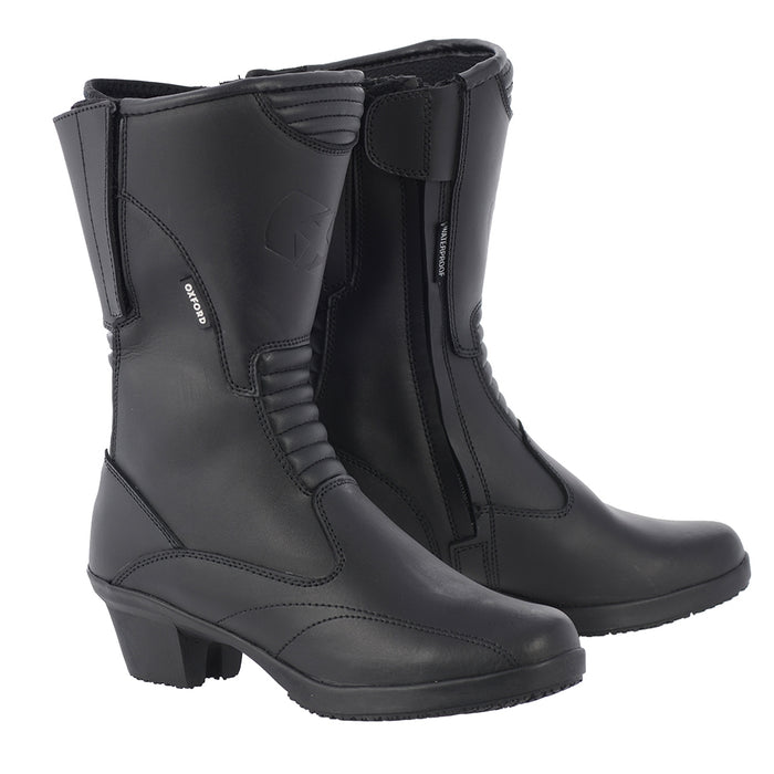 Oxford Valkyrie Boots Black