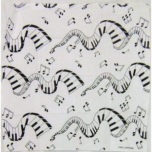 Music Note Bandanna