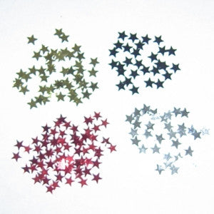 "1/4"" Small Star Confetti"