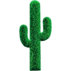 Foam Board Cactus for centerpieces.