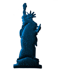 Statue of Liberty Cut Out for Centerpiece Table Decorations.