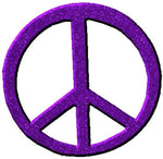 Peace Sign Cut Out for Centerpieces