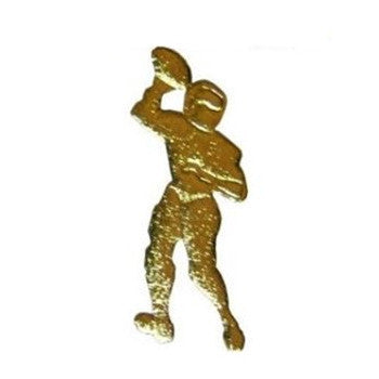 Gold Football Player Cut Out for Centerpieces