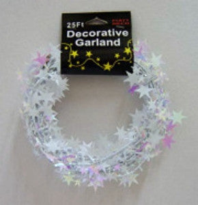 Iridescent Star Garland