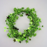 Lime Star Garland