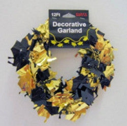 Graduation Garland - Blk/Gold