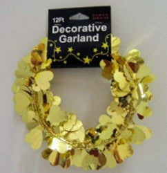 Heart Garland - Gold