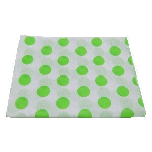 Lime Dots & Stripes Tissue(sale)