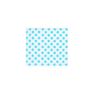 Turquoise Dots Cellophane