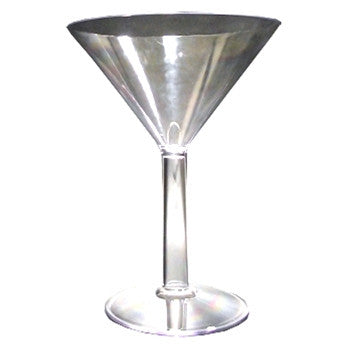 Jumbo Plastic Martini Glass