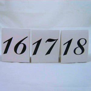 Table Numbers (16-30 )
