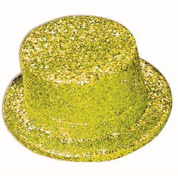 Glittered Top Hat - Gold