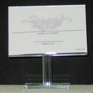 Crystal Clear Card Holder