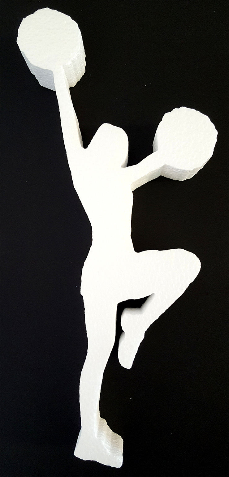 Cheerleader Cut Out