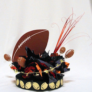 Football Have a Ball Centerpiece