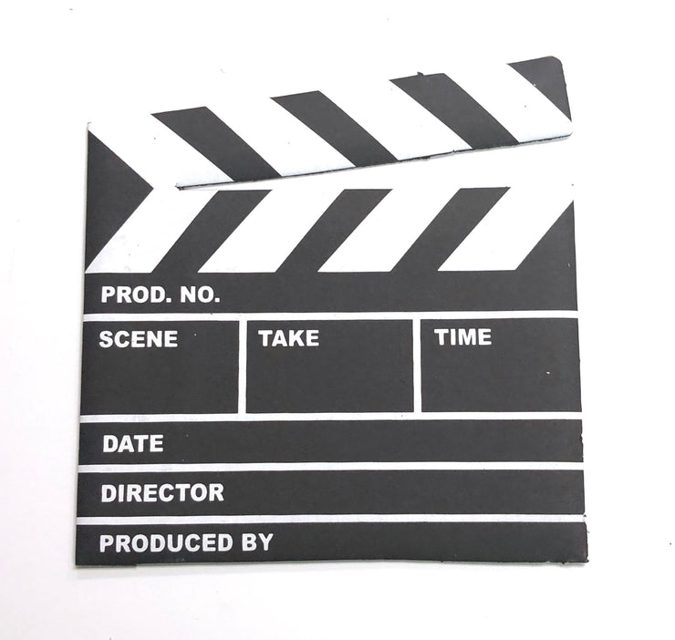 "(20 Pieces) 8"" Movie Clap Board"