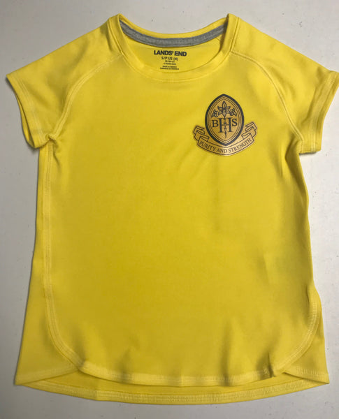 PE Shirt ** New Active Fit** HASTINGS/ Yellow