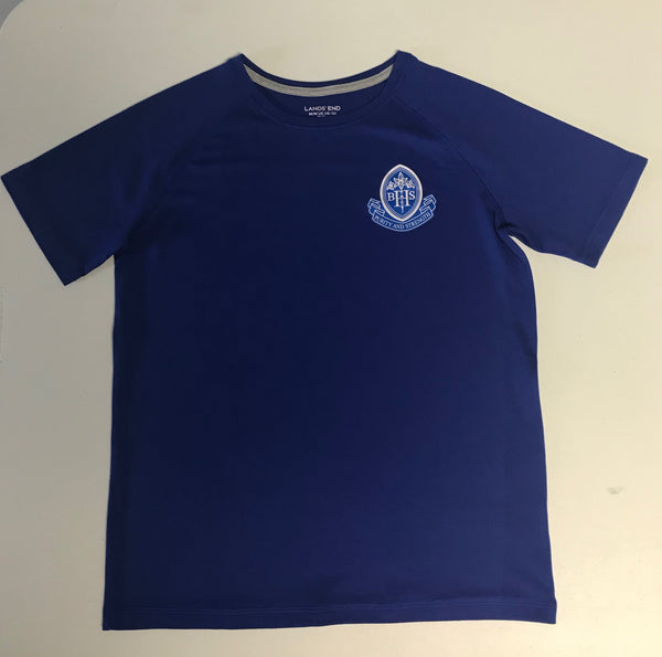 PE Shirt ** New Active Fit** BARR/ Blue