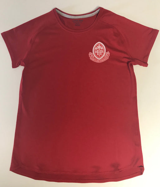 PE Shirt ** New Active Fit** MIDDLETON/ Red