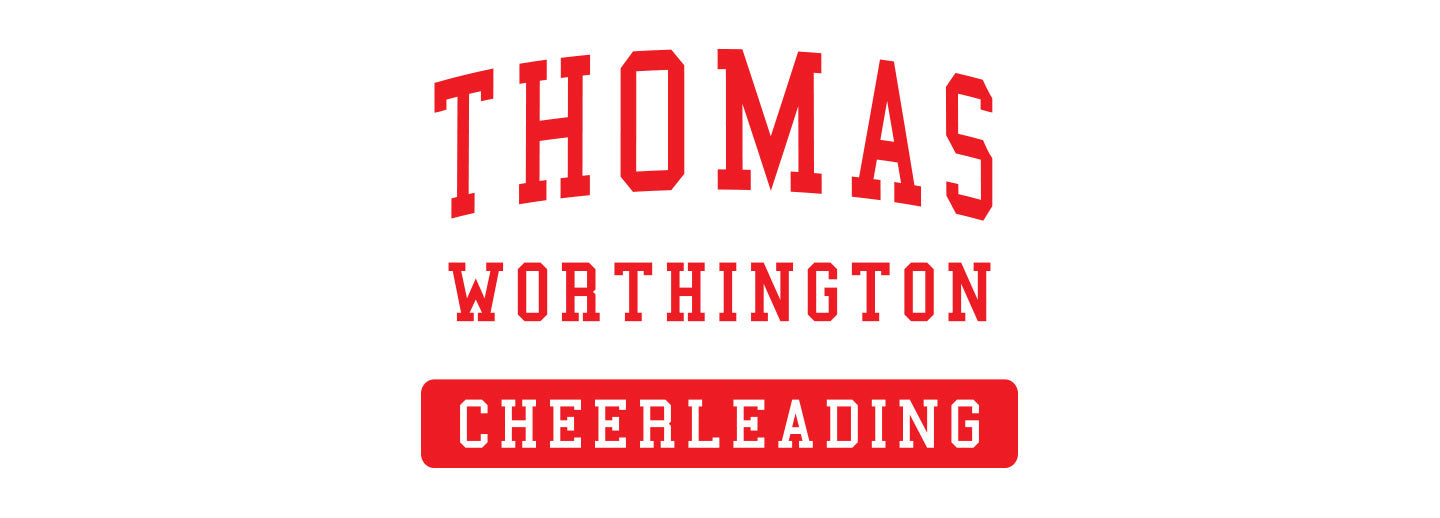 TWHS Cheerleading Spirit Wear