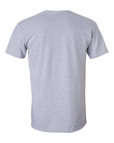 HT GREY Short Sleeve COTTON Tee