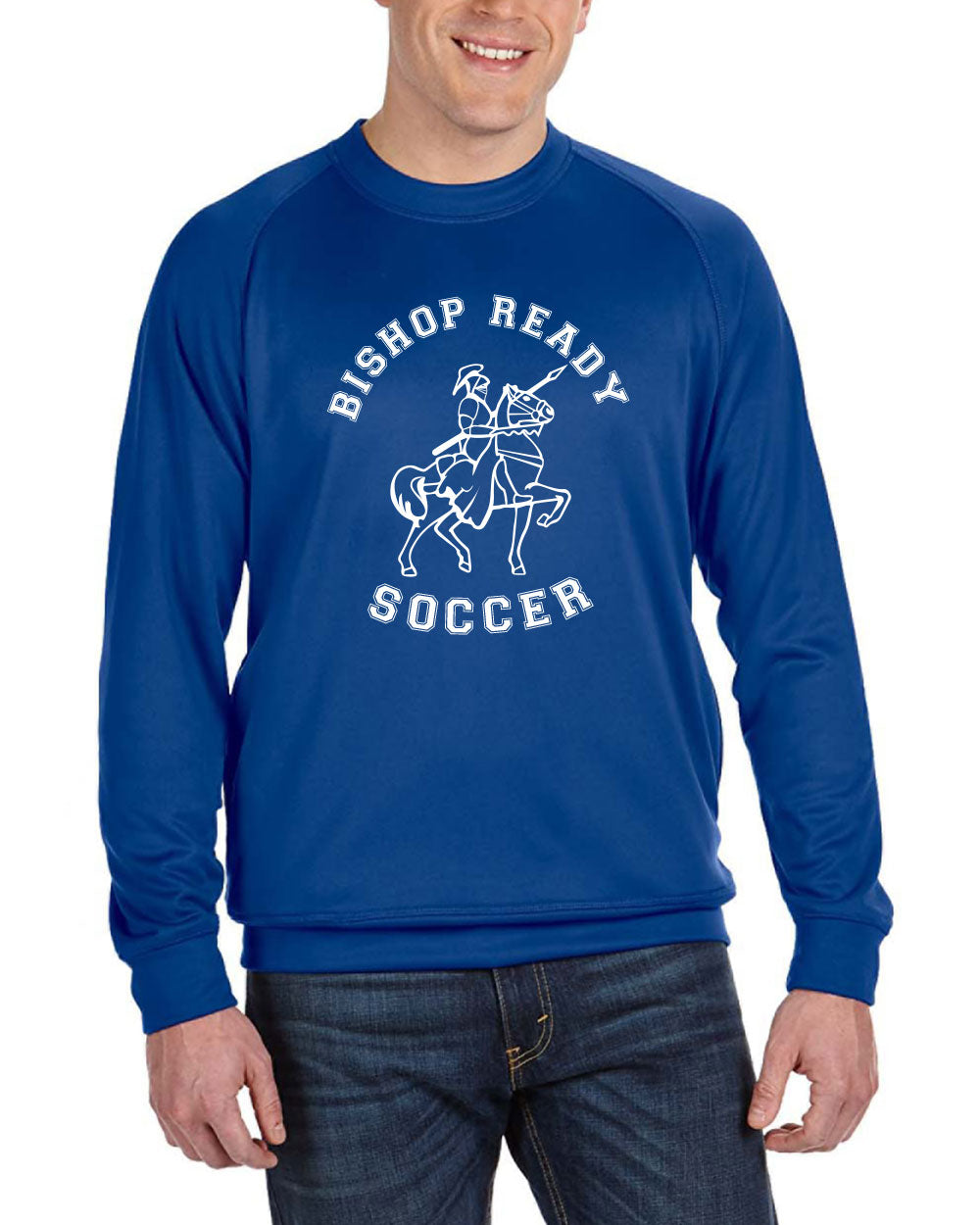 Boy's Long Sleeve Crewneck Fleece