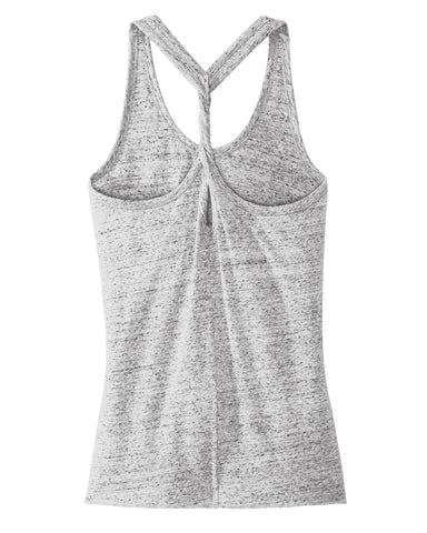 6 - Cosmic Twist Tank - White/Black
