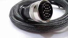 Load image into Gallery viewer, 17 Pin Naim Burndy Cable Lead Superline Supercap 1.50M