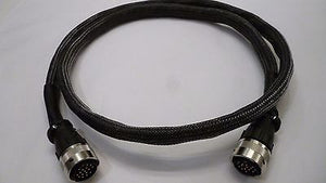 17 Pin Naim Burndy Cable Lead Superline Supercap 1.50M