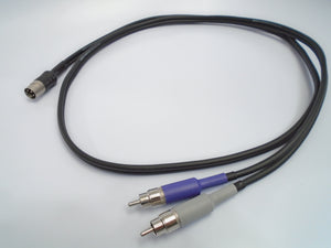Dyson Audio Naim 4-pin DIN Dual RCA OFC Cable