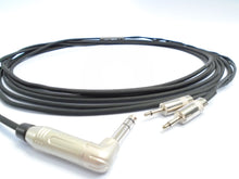 "Load image into Gallery viewer, Gotham Single Ended Long Distance 1/4"" TRS Headphone Cable 6M"