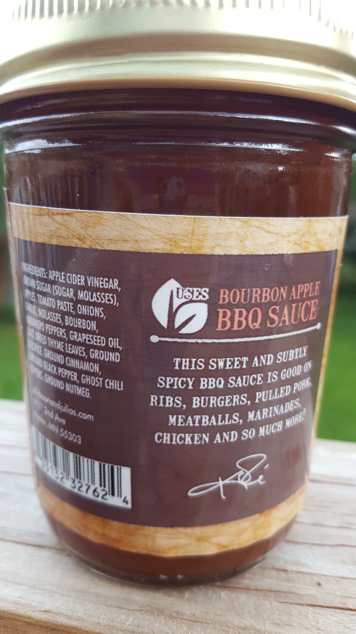 Bourbon Apple BBQ Sauce
