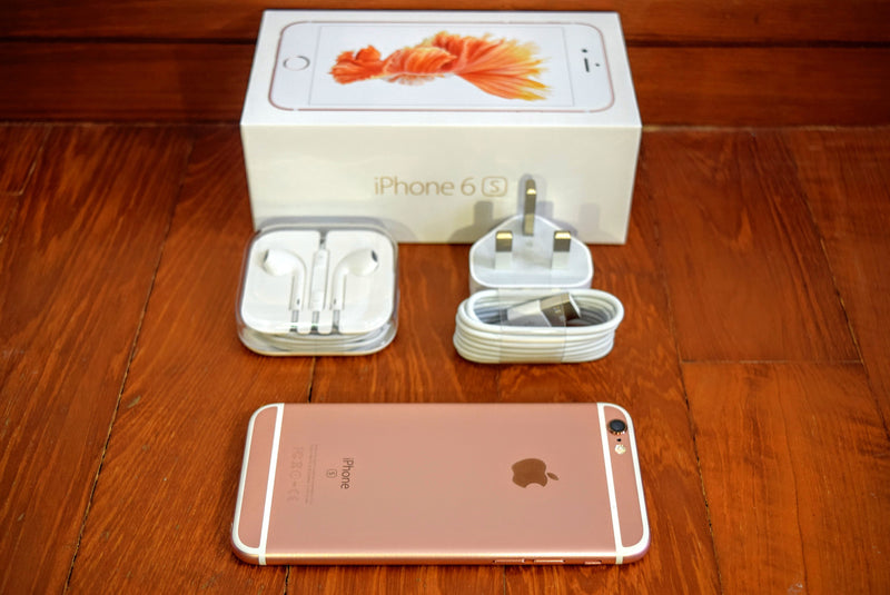 Apple iPhone 6S (Pre-Owned, 16GB, Rose Gold, Special Import)