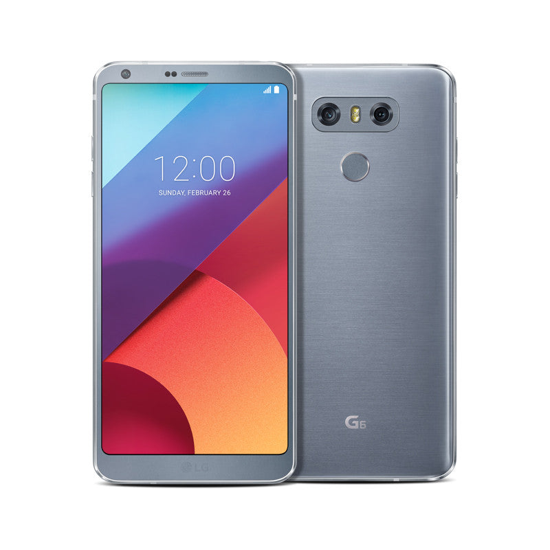 LG G6 (32GB, Platinium Silver, Single Sim, Special Import)