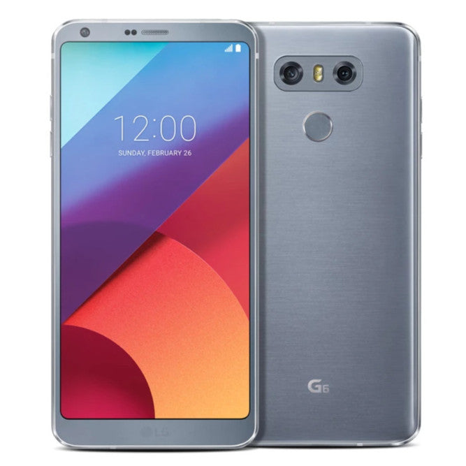 LG G6 (32GB, Platinium Silver, Single Sim, Local Stock)-Smartphones (New)-Connected Devices