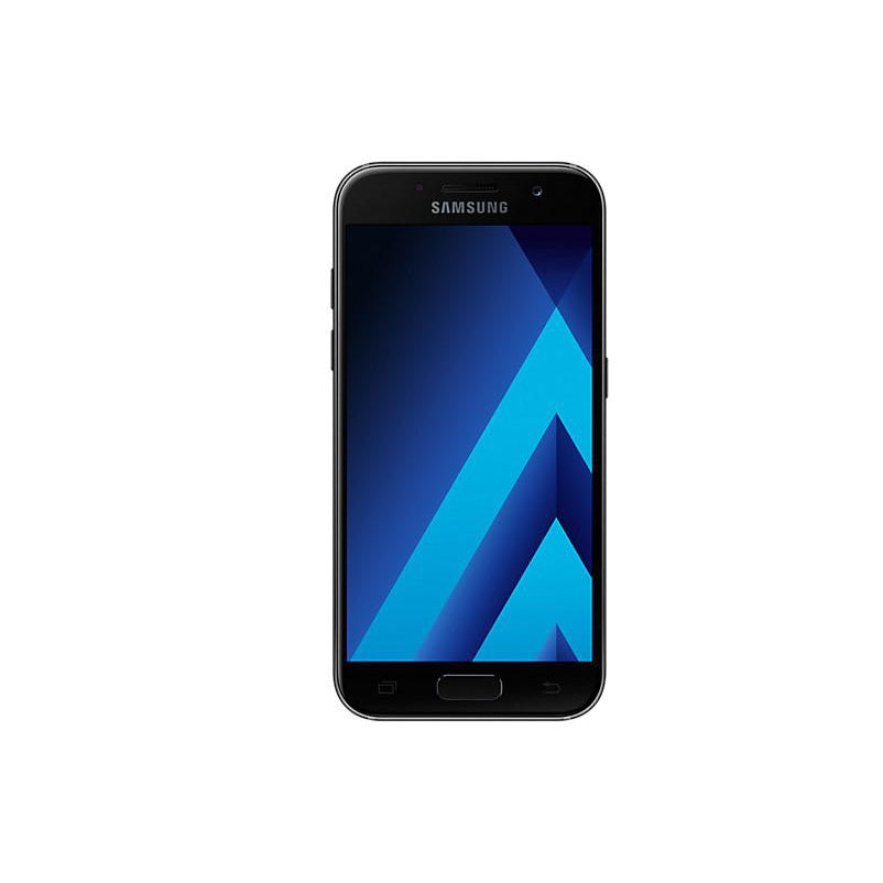 Samsung Galaxy A3 (2017, 16GB, Black Sky, Local Stock)