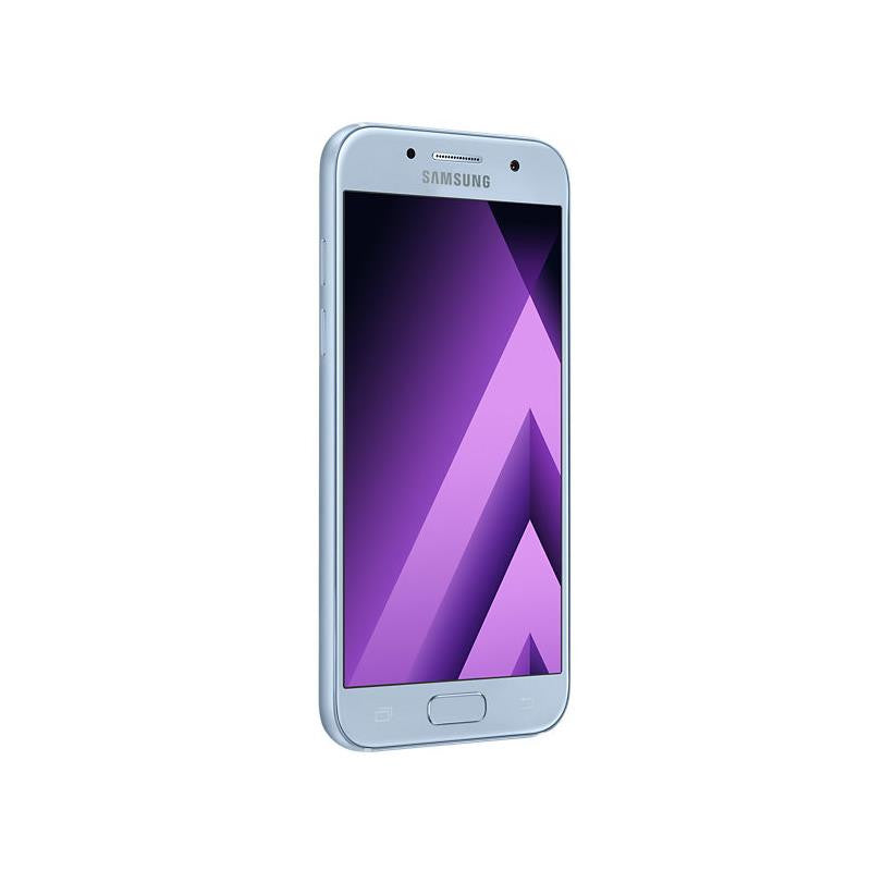 Samsung Galaxy A3 (2017, 16GB, Blue Mist, Special Import)