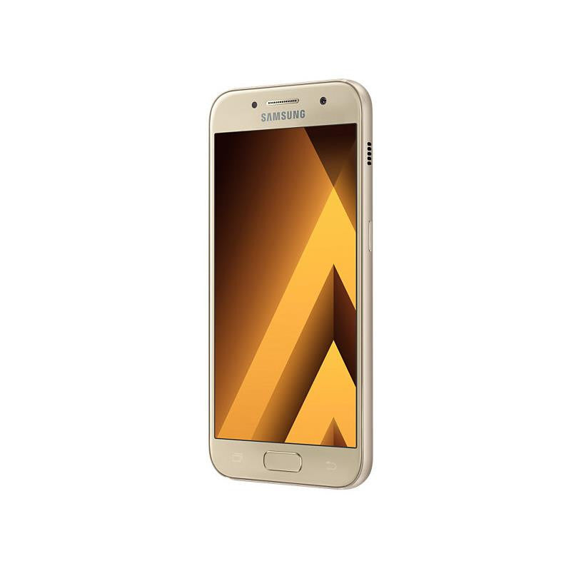 samsung galaxy a3 2017 16gb gold sand special import. Black Bedroom Furniture Sets. Home Design Ideas