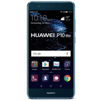 Huawei P10 Lite (32GB, Dual Sim, Shimmer Blue, Local Stock)-Smartphones (New)-Connected Devices