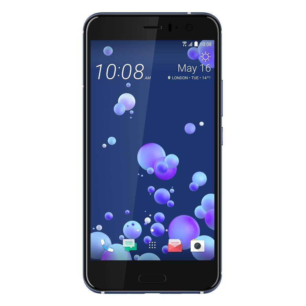 HTC U11 (64GB, Amazing Silver, Single Sim, Special Import)