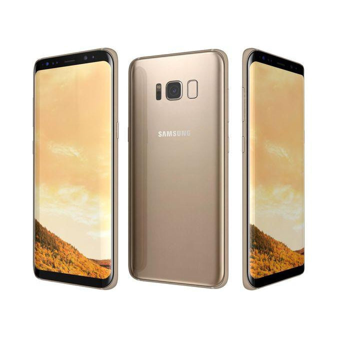 Samsung Galaxy S8 Plus (64GB, Maple Gold, Local Stock)-Smartphones (New)-Connected Devices