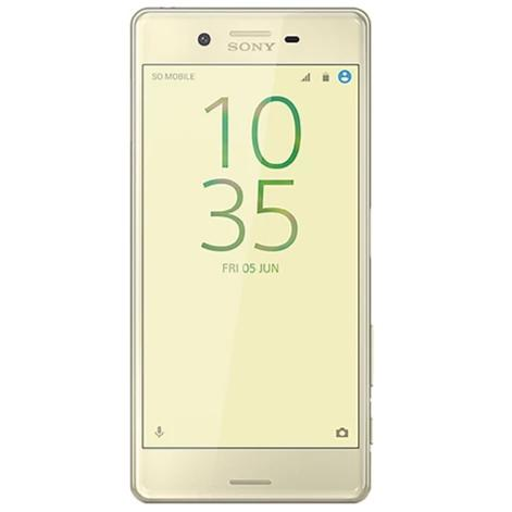 Sony Xperia X (64GB, Lime Gold, Dual Sim Special Import)