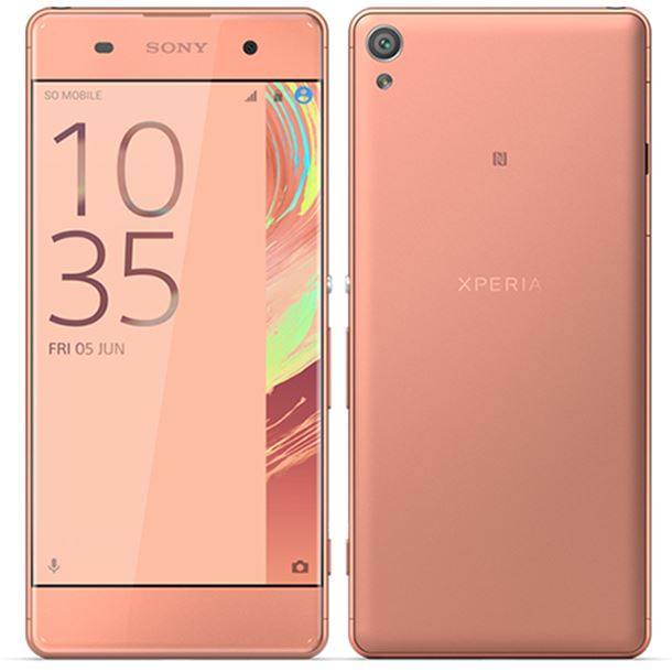 Sony Xperia XA (16GB, Rose Gold, Dual Sim, Special Import)-Smartphones (New)-Connected Devices