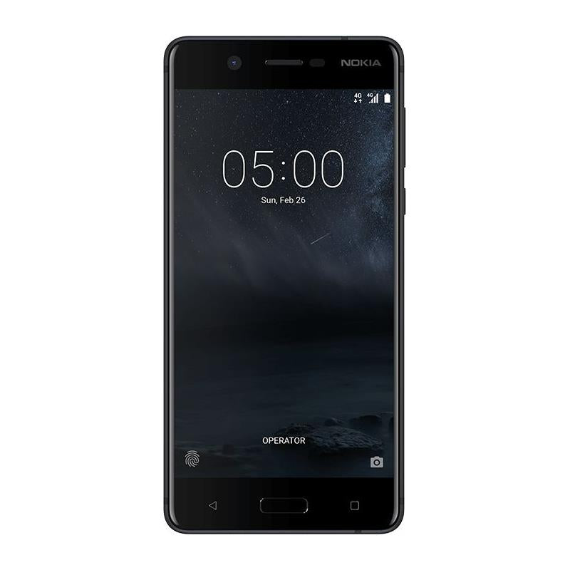 Nokia 5 (16GB/2GB, Matte Black, Single Sim, Local Stock)