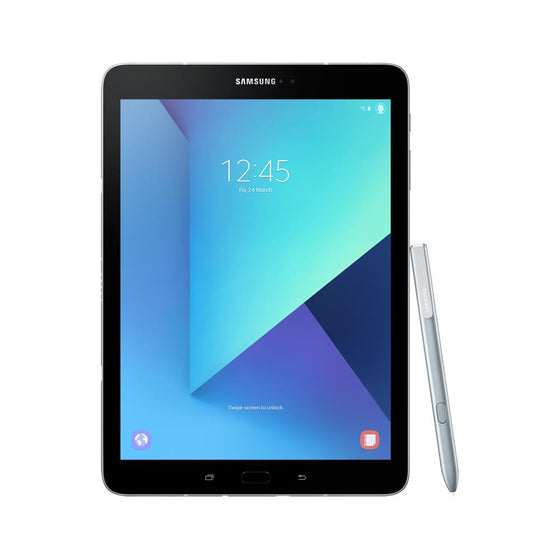 Samsung Galaxy Tab S3 (32GB, Wi-Fi, LTE, Silver, Local Stock)