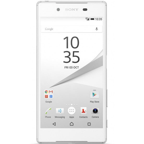 Sony Xperia Z5 (Pre-Owned, 32GB, Dual Sim, White, Special Import)-Smartphones (Open Box)-Connected Devices