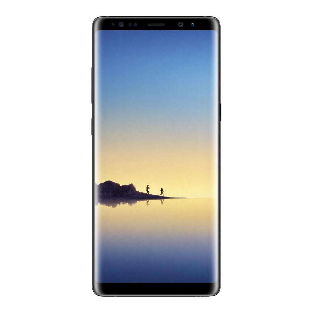 Samsung Galaxy Note 8 (Dual Sim, 64GB, Midnight Black, Special Import)
