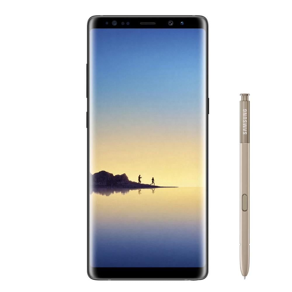 Samsung Galaxy Note 8 (Dual Sim, 256GB, Maple Gold, Special Import)