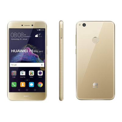 Huawei P8 Lite (2017, Gold, Dual Sim, Local Stock)-Smartphones (New)-Connected Devices