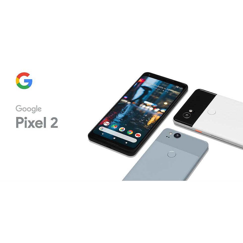 Google Pixel 2 (128GB, Clearly White, Special Import)